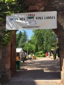 Salon des vins libres banderole